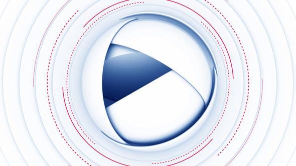 Logo de esfera tecnológica