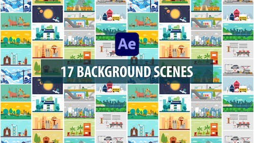 Background Scenes   After Effects