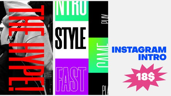 Instagram Kinetic Typography