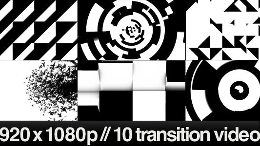 Thumbnail for 10 HD Transitions Bundle - C