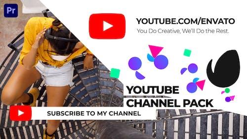 Пакет каналов Youtube | Для Premiere Pro