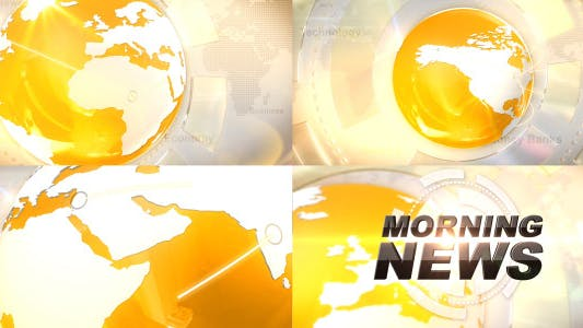Broadcast  News Idents