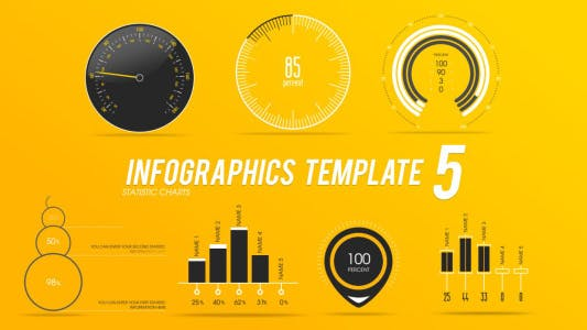 Thumbnail for Infographies Modèle 5