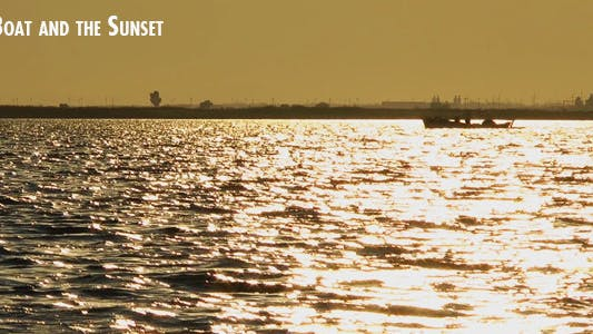 Thumbnail for Boat And The Sunset