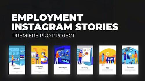 Employment - Instagram Stories