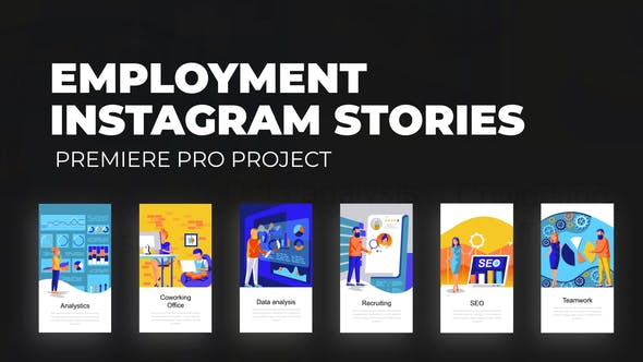 Employment - Instagram Stories