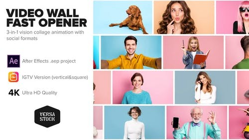 Video Wall Fast Opener 4K and Social