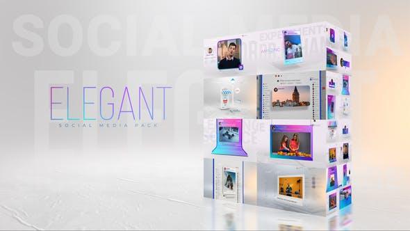Elegant I Social Media Pack