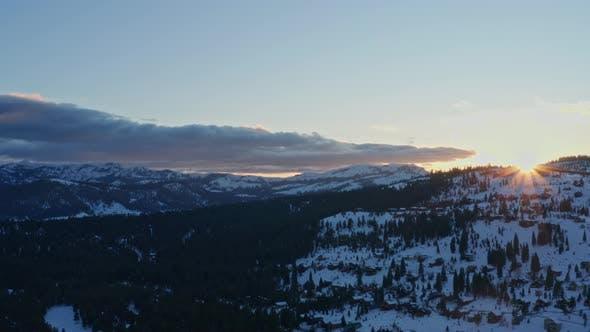 Thumbnail for Mountains Aerial 4K