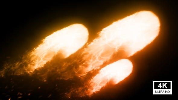 Meteor Fireballs 4K