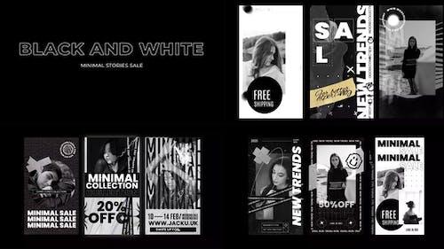 Black and White Stories Minimal