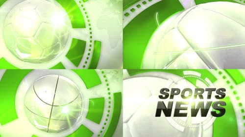 Sports News Ident Pack