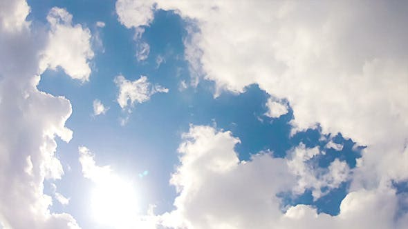 Thumbnail for White Clouds In Blue Sky