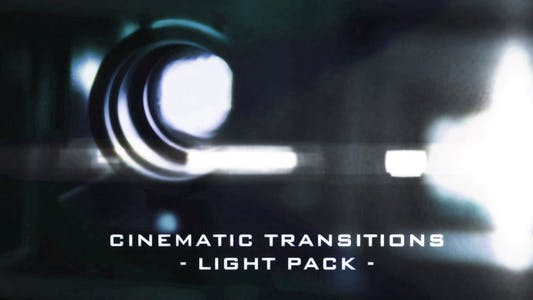Thumbnail for Cinematic Light Transitions - 11 Pack