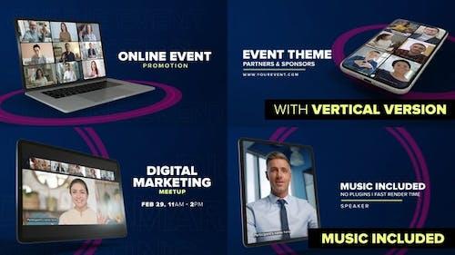 Online Event Promo - Device Mock-up