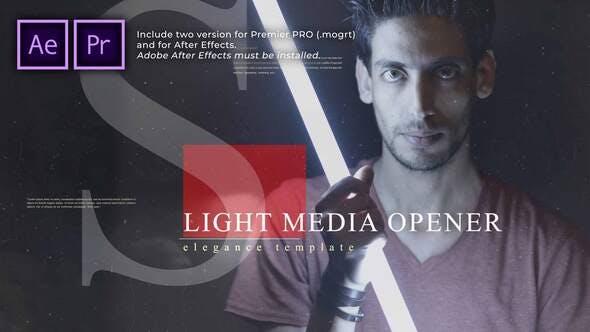 Light Media Opener | Presentación de diapositivas