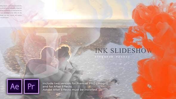 Presentación de diapositivas Elegance Ink