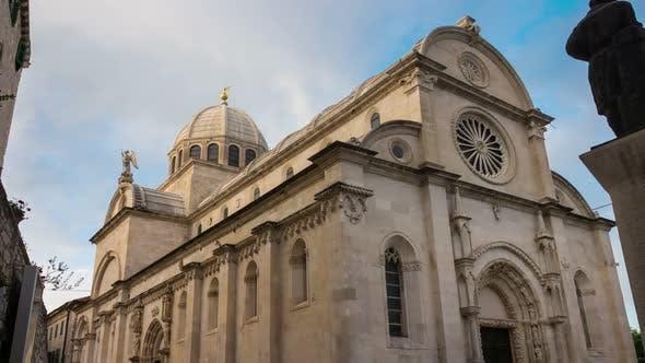 Time Lapse - St James Cathedral, Sibenik, Croatia