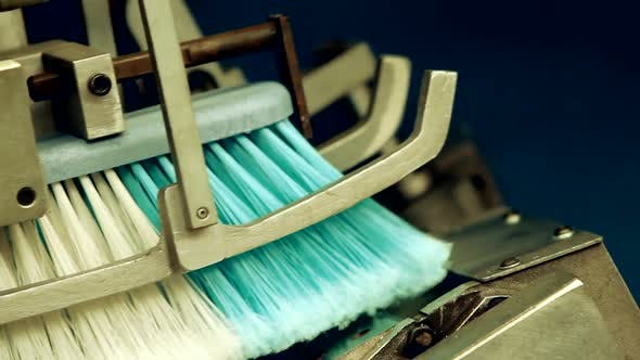 Thumbnail for Floor Sweeping Brush Manufacture.