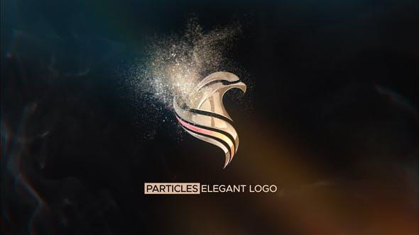 Particles Elegant Logo