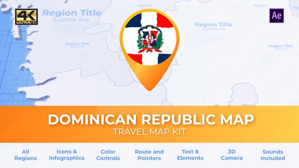 Dominican Republic Map - Republica Dominicana Travel Map