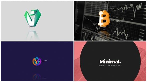 Minimal Logo Reveal v2