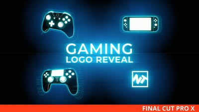 Gaming Logo Reveal for Final Cut Pro X