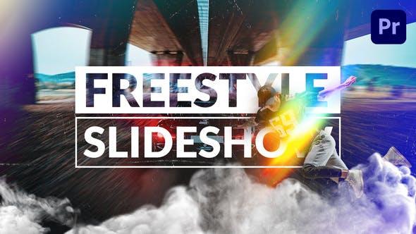 Freestyle-Diashow | Mogrt