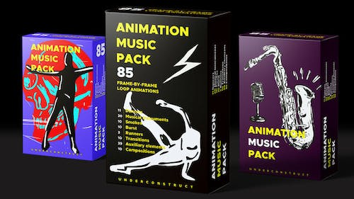 Animation music pack