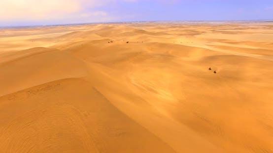 Thumbnail for Aerial  Shot of the Highest Dunes Worldwide
