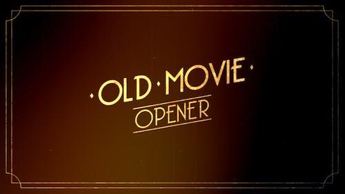Old Movie Intro