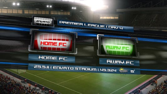 Cover Image for Soccer Broadcast Pack