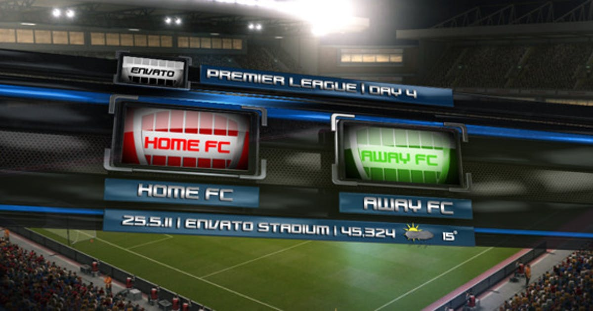 Download Soccer Broadcast Pack by 333pix