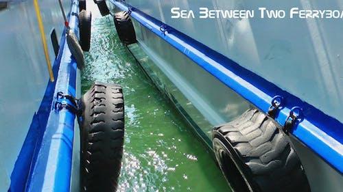 Sea Between Two Ferryboat
