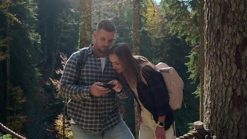 Navigation in Forest Tourists are Using Smartphone for Orienting in Reserve