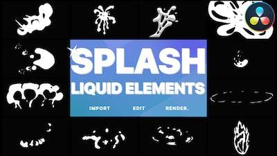 Splash Elements | DaVinci Resolve