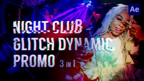 Boîte de nuit - Promo Glitch Dynamic