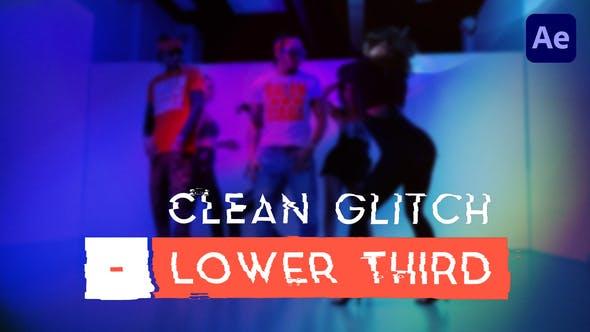 Clean Glitch - Troisième inférieur