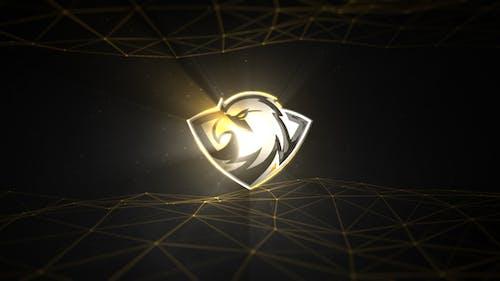 Cinematic Volumetric Light Logo Reveal 2