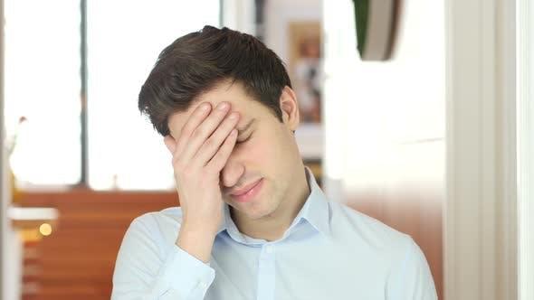 Thumbnail for Headache, Tense Working Man, Indoor