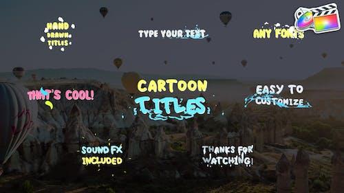 Cartoon Titles   FCPX