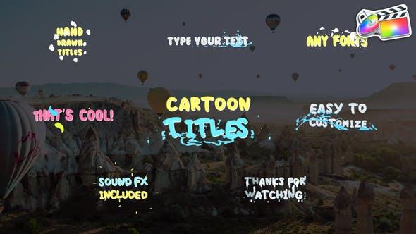 Cartoon Titles | FCPX