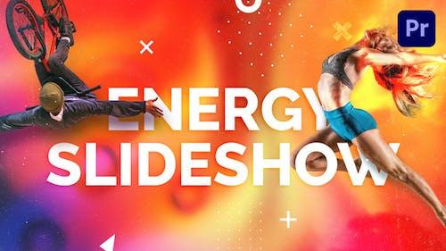 Energy Slideshow | Mogrt