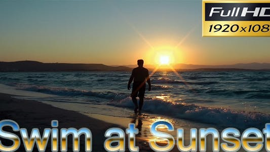 Thumbnail for Swim At Sunset | Nature HD