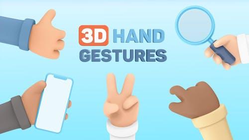 3D Hand Gestures