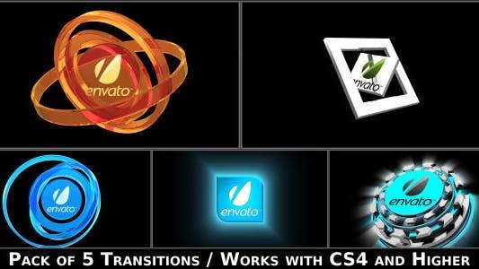 Thumbnail for Paquete de Transición de Logo de Transmisión
