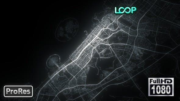 Thumbnail for Dubai - City Map - FullHD
