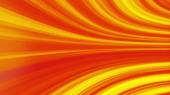Abstract flowing curved yellow and red texture