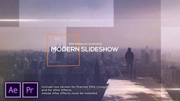 Presentación de diapositivas de paralaje Moderno