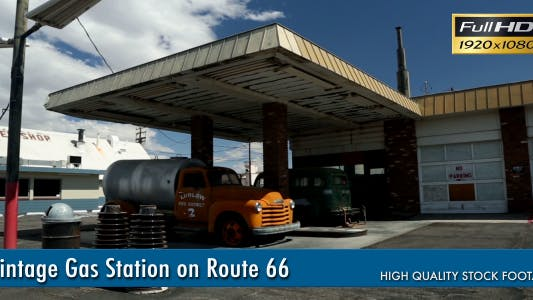 Thumbnail for Vintage Gas Station On Route 66